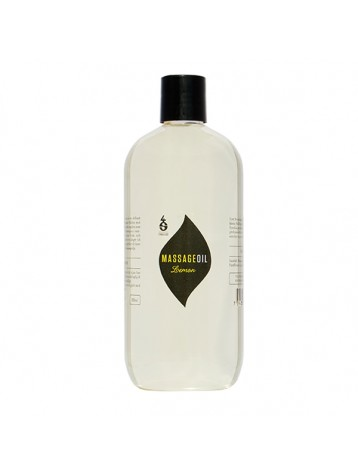 Massageoil Lemon, 500 ml